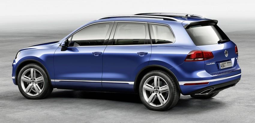 Volkswagen Touareg: second-gen facelift for Beijing Image #242105