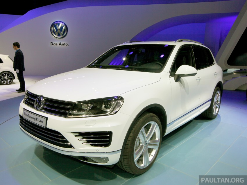 Volkswagen Touareg: second-gen facelift for Beijing Image #243800