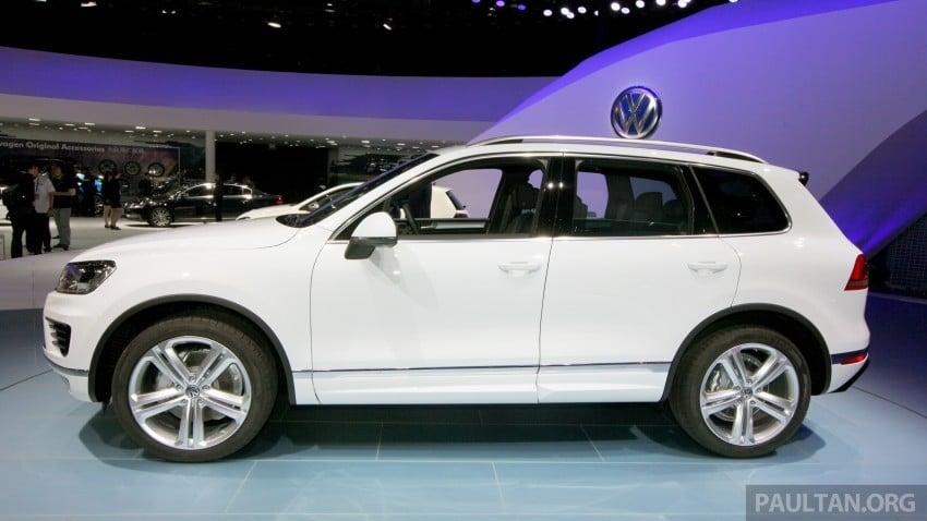 Volkswagen Touareg: second-gen facelift for Beijing Image #243801