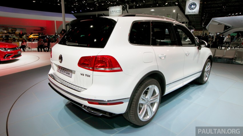 Volkswagen Touareg: second-gen facelift for Beijing Image #243802