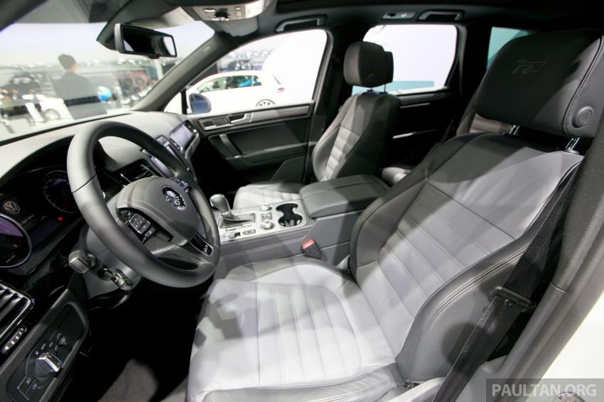 Volkswagen Touareg: second-gen facelift for Beijing Image #243806