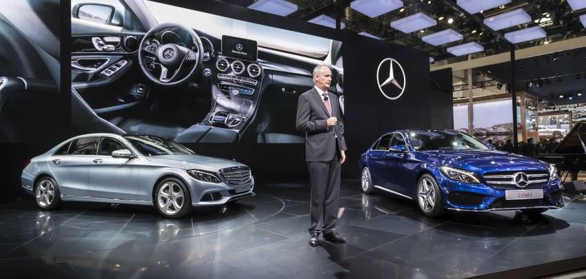 Mercedes-Benz C-Class L – a long-wheelbase W205 Image #242620