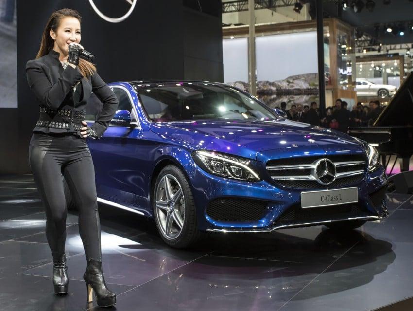 Mercedes-Benz C-Class L – a long-wheelbase W205 Image #242625