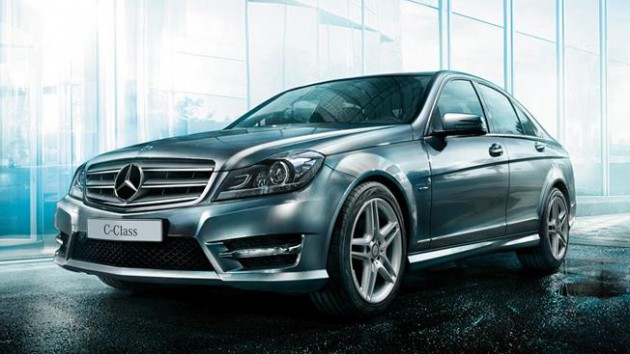 mercedes benz c 200 amg grand edition revealed run out. Black Bedroom Furniture Sets. Home Design Ideas