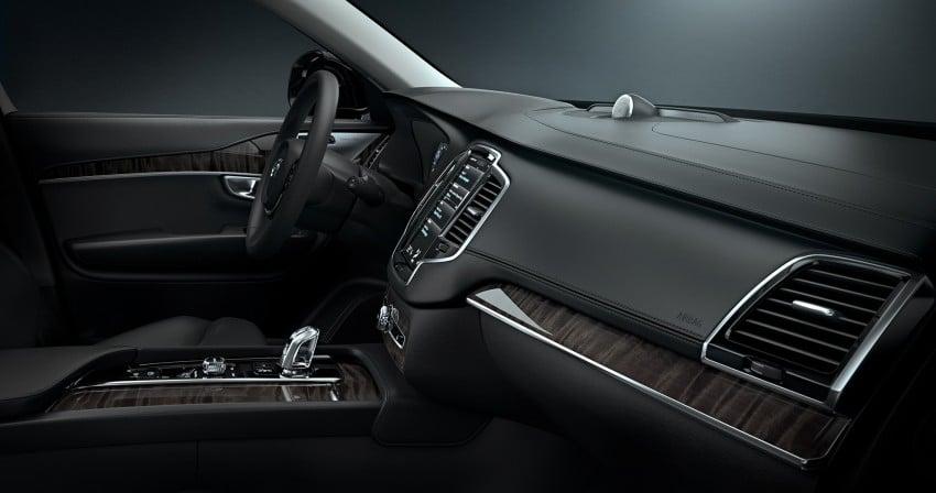 Volvo XC90 – next-generation interior photos released Image #249946