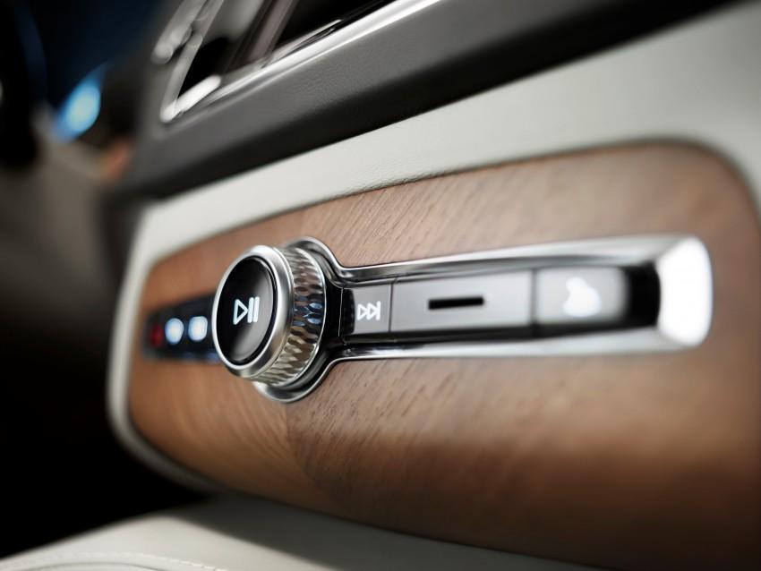 Volvo XC90 – next-generation interior photos released Image #249947