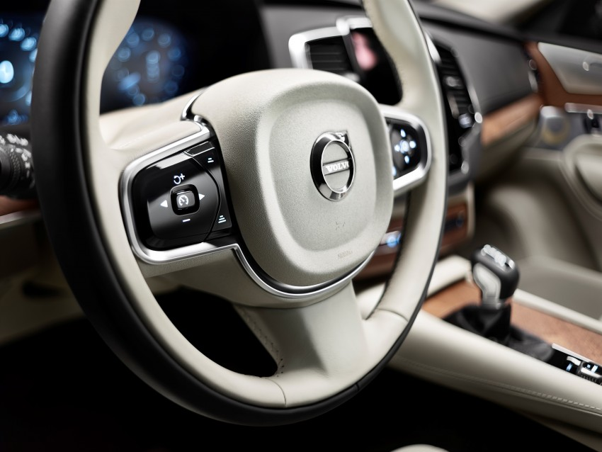 Volvo XC90 – next-generation interior photos released Image #249951