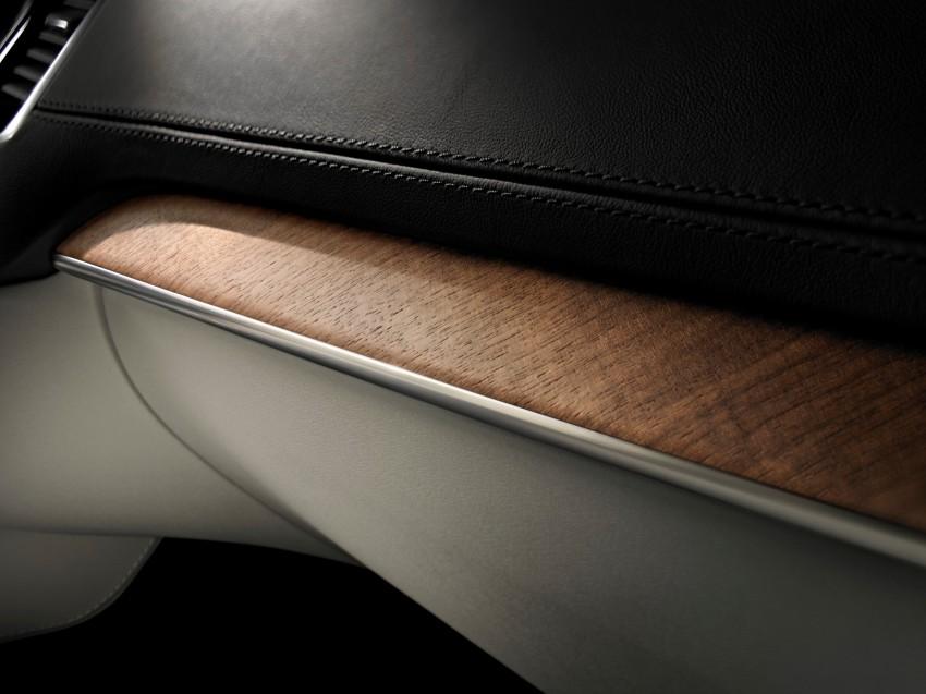 Volvo XC90 – next-generation interior photos released Image #249941