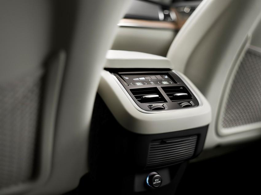 Volvo XC90 – next-generation interior photos released Image #249945