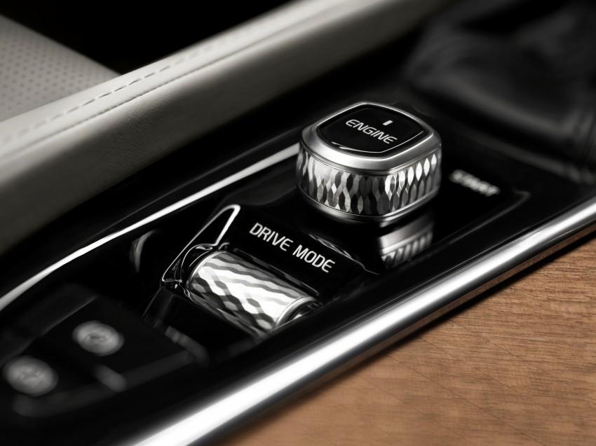 Volvo XC90 – next-generation interior photos released Image #249949