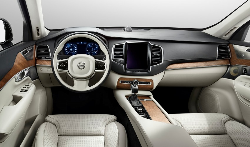 Volvo XC90 – next-generation interior photos released Image #249952