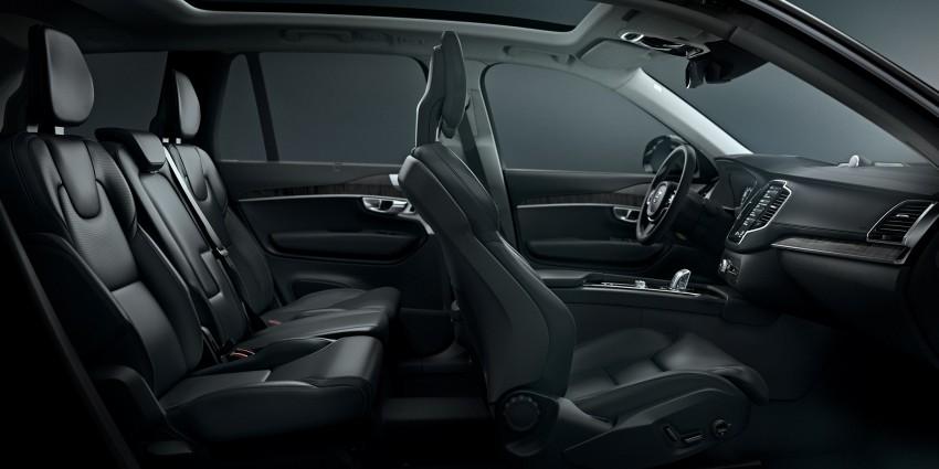 Volvo XC90 – next-generation interior photos released Image #249939