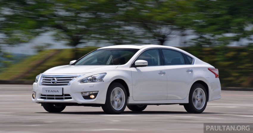 DRIVEN: 2014 Nissan Teana ups the D-segment ante Image #247932