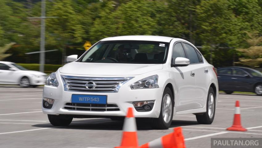 DRIVEN: 2014 Nissan Teana ups the D-segment ante Image #247937