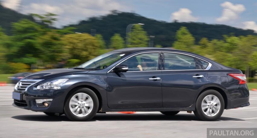 DRIVEN: 2014 Nissan Teana ups the D-segment ante Image #247939