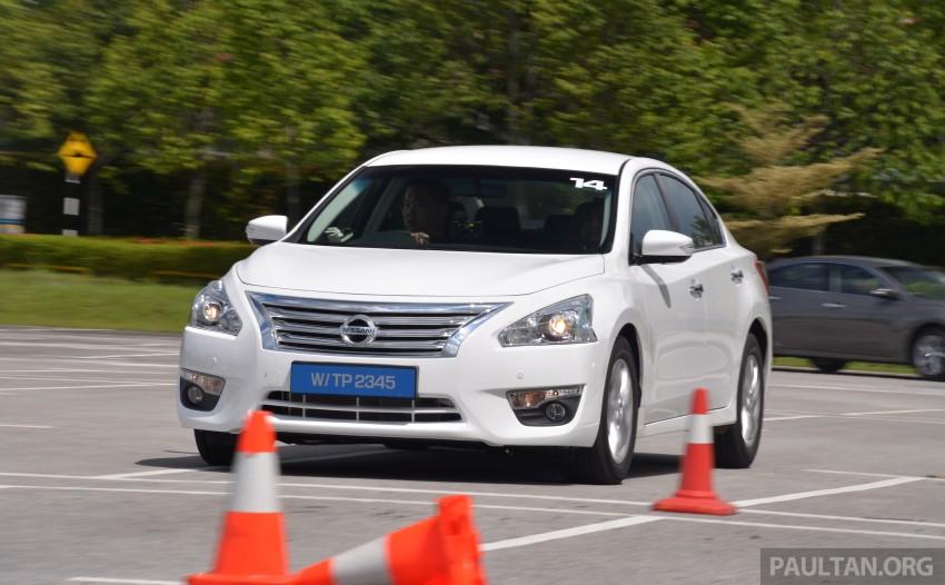 DRIVEN: 2014 Nissan Teana ups the D-segment ante Image #247940