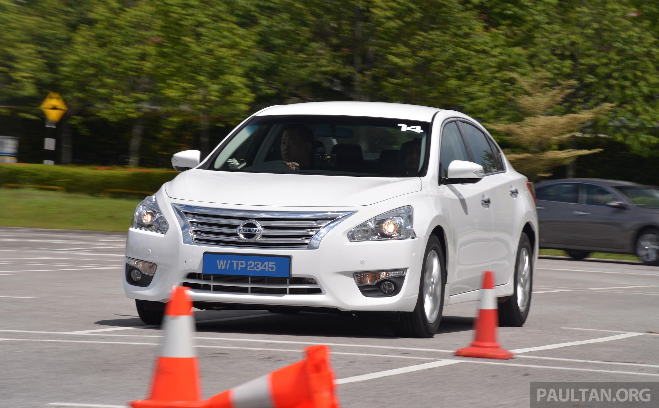 Driven 2014 Nissan Teana Ups The D Segment Ante Image 247940