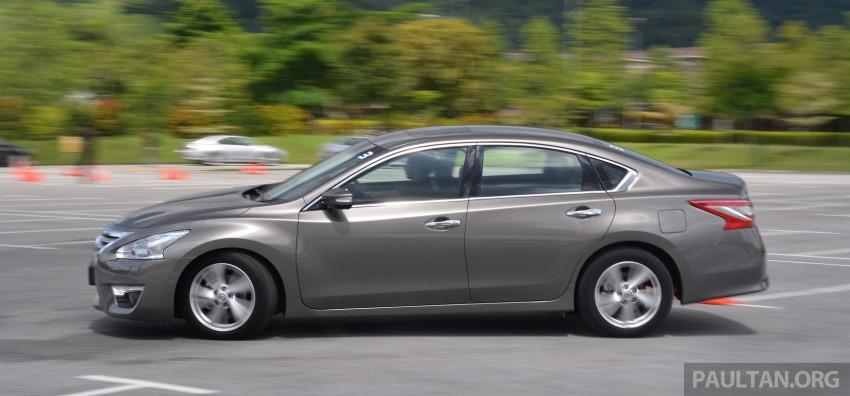 DRIVEN: 2014 Nissan Teana ups the D-segment ante Image #247941