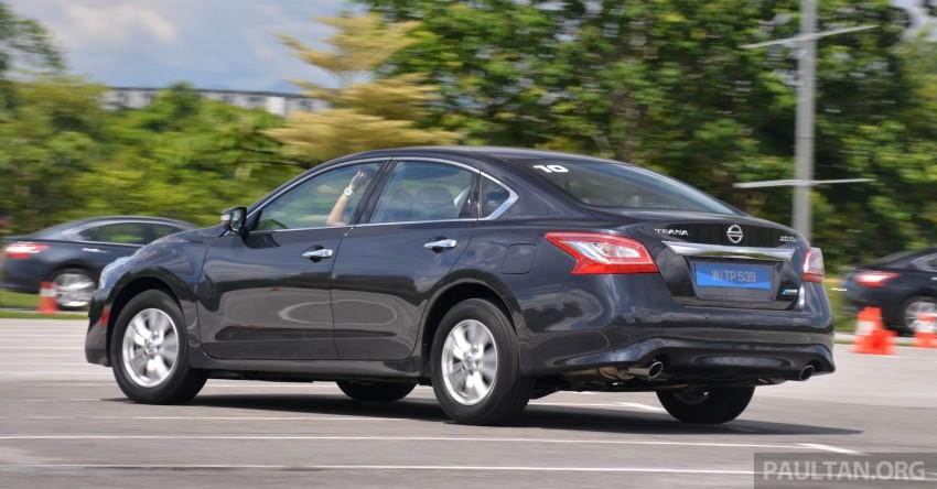 DRIVEN: 2014 Nissan Teana ups the D-segment ante Image #247943
