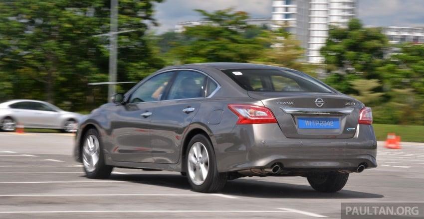 DRIVEN: 2014 Nissan Teana ups the D-segment ante Image #247944