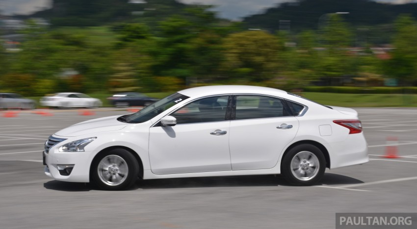 DRIVEN: 2014 Nissan Teana ups the D-segment ante Image #247945