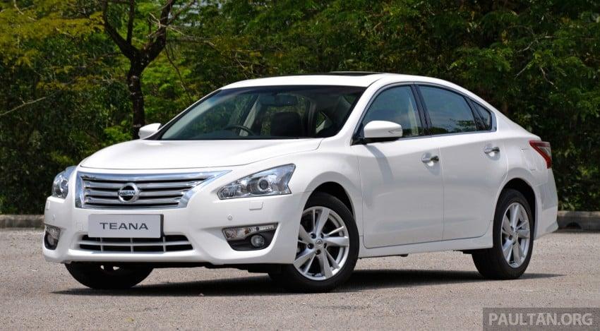 DRIVEN: 2014 Nissan Teana ups the D-segment ante Image #247947
