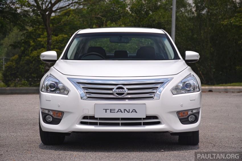 DRIVEN: 2014 Nissan Teana ups the D-segment ante Image #247949
