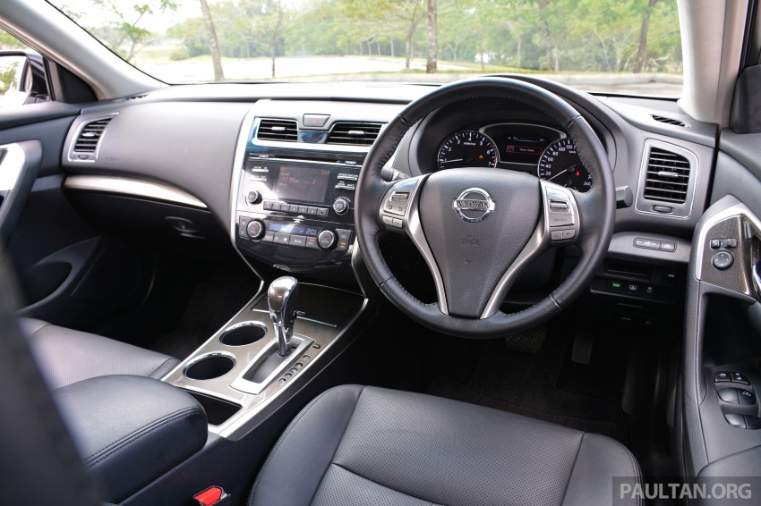 DRIVEN: 2014 Nissan Teana ups the D-segment ante Image #247973