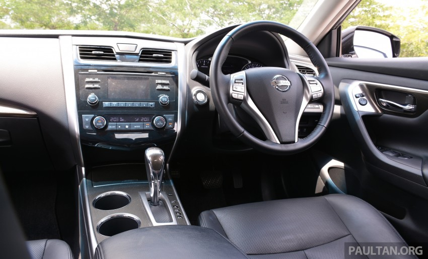DRIVEN: 2014 Nissan Teana ups the D-segment ante Image #247975