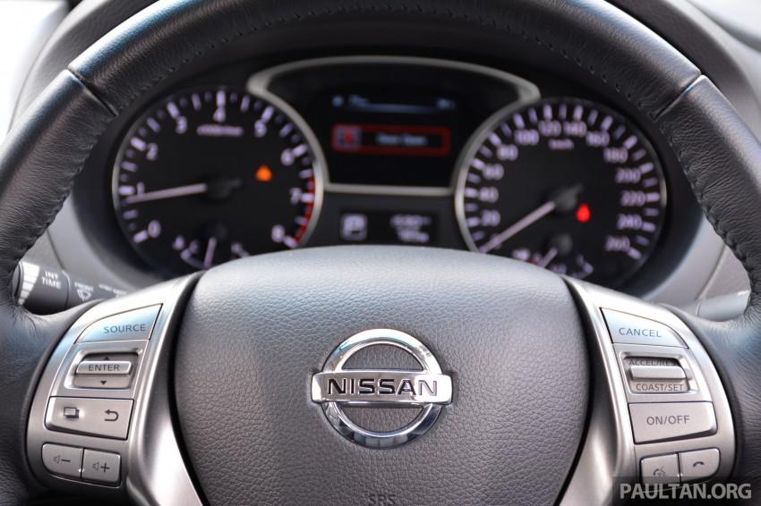 DRIVEN: 2014 Nissan Teana ups the D-segment ante Image #247979