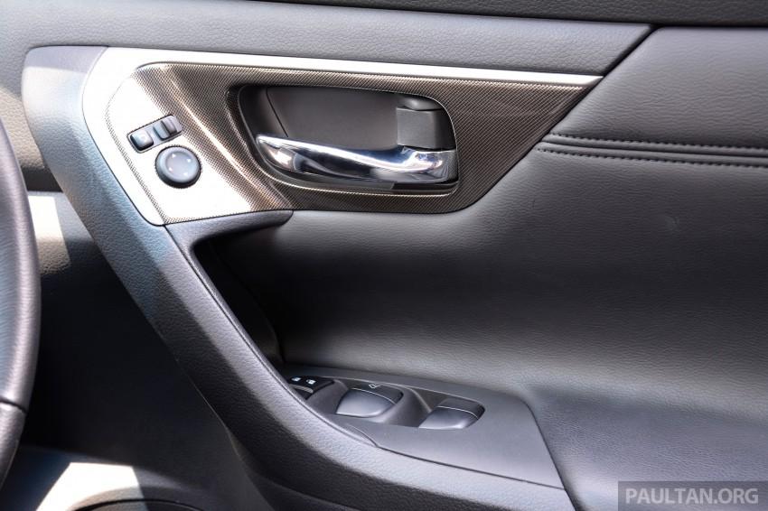 DRIVEN: 2014 Nissan Teana ups the D-segment ante Image #247989