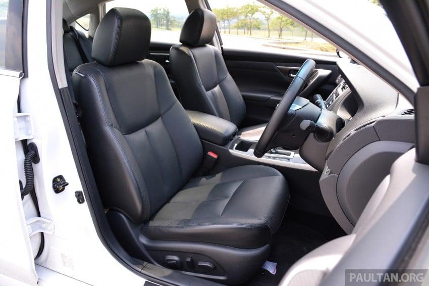 DRIVEN: 2014 Nissan Teana ups the D-segment ante Image #247990
