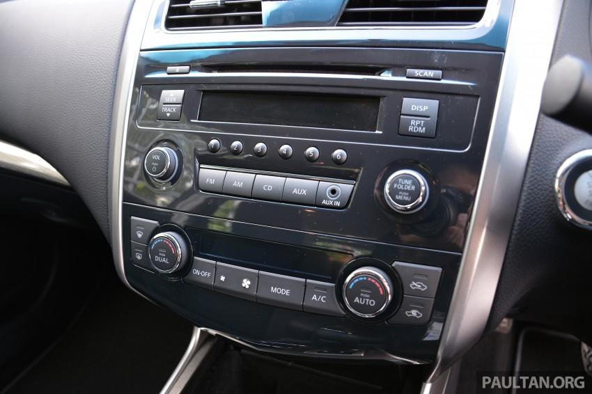 DRIVEN: 2014 Nissan Teana ups the D-segment ante Image #248000
