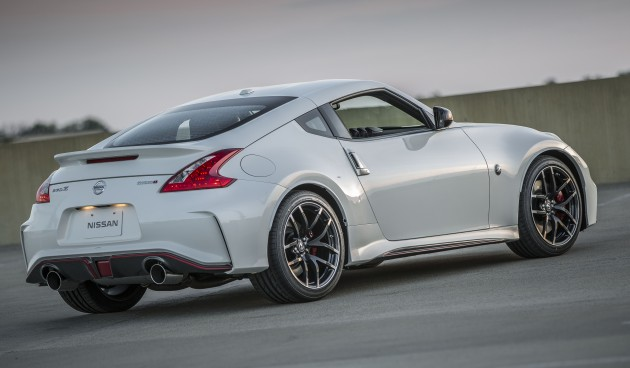 2015 Nissan 370Z Nismo – new looks, 7-speed auto