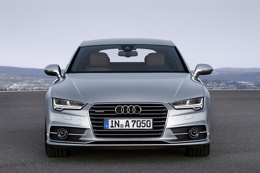 Audi A7 and S7 Sportback facelift – new 3.0 TDI ultra Image #249032