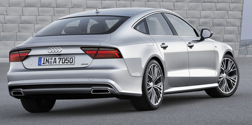Audi A7 and S7 Sportback facelift – new 3.0 TDI ultra Image #249038