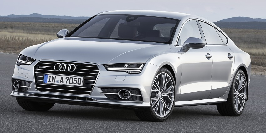 Audi A7 and S7 Sportback facelift – new 3.0 TDI ultra Image #249037