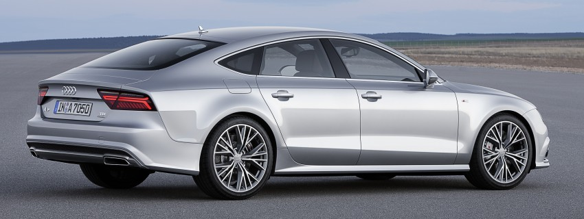 Audi A7 and S7 Sportback facelift – new 3.0 TDI ultra Image #249035