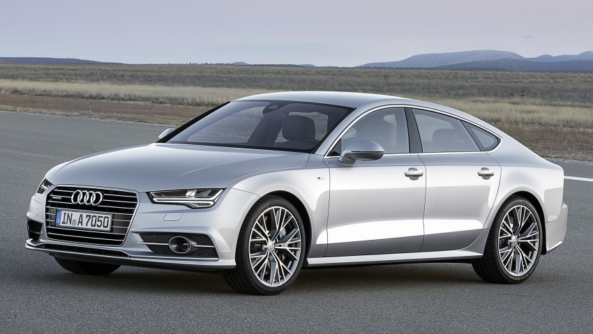 Audi A7 and S7 Sportback facelift – new 3.0 TDI ultra Image #249034