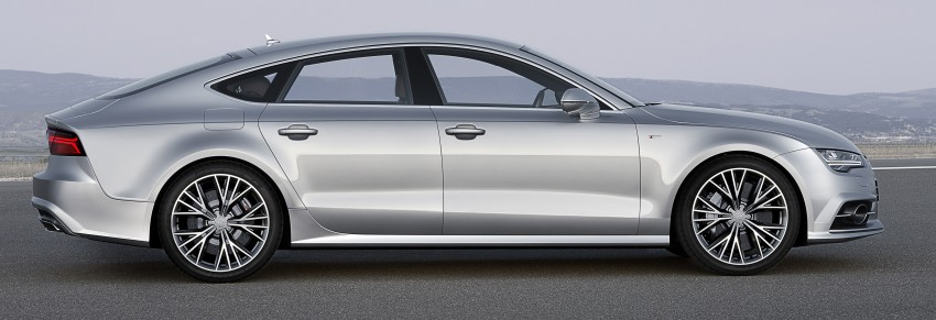 Audi A7 and S7 Sportback facelift – new 3.0 TDI ultra Image #249036