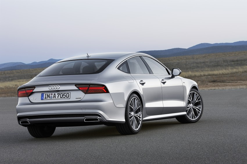 Audi A7 and S7 Sportback facelift – new 3.0 TDI ultra Image #249033
