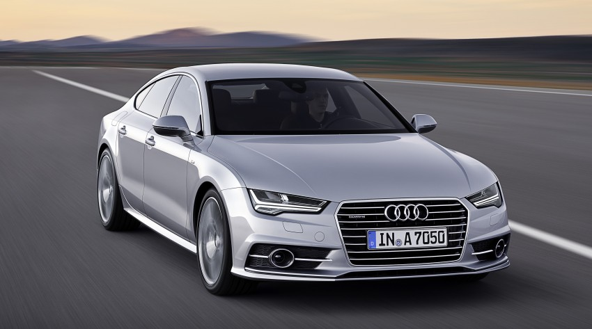 Audi A7 and S7 Sportback facelift – new 3.0 TDI ultra Image #249029