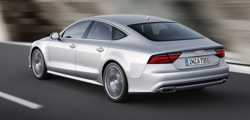 Audi A7 and S7 Sportback facelift – new 3.0 TDI ultra Image #249031