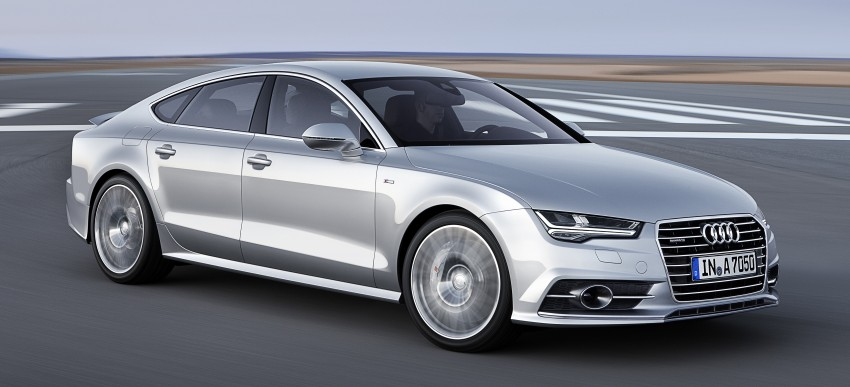 Audi A7 and S7 Sportback facelift – new 3.0 TDI ultra Image #249027