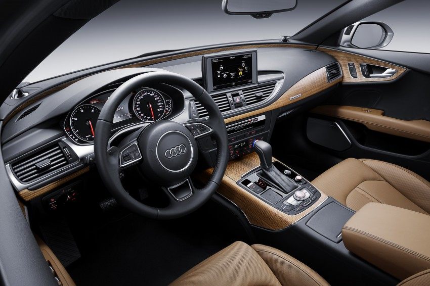 Audi A7 and S7 Sportback facelift – new 3.0 TDI ultra Image #249028