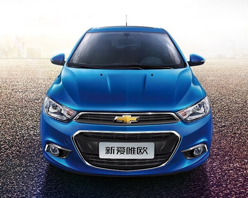 Facelifted chevrolet aveo sonic unveiled in china image 250562