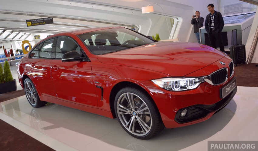 Driven F36 Bmw 4 Series Gran Coupe In Spain Image 250452