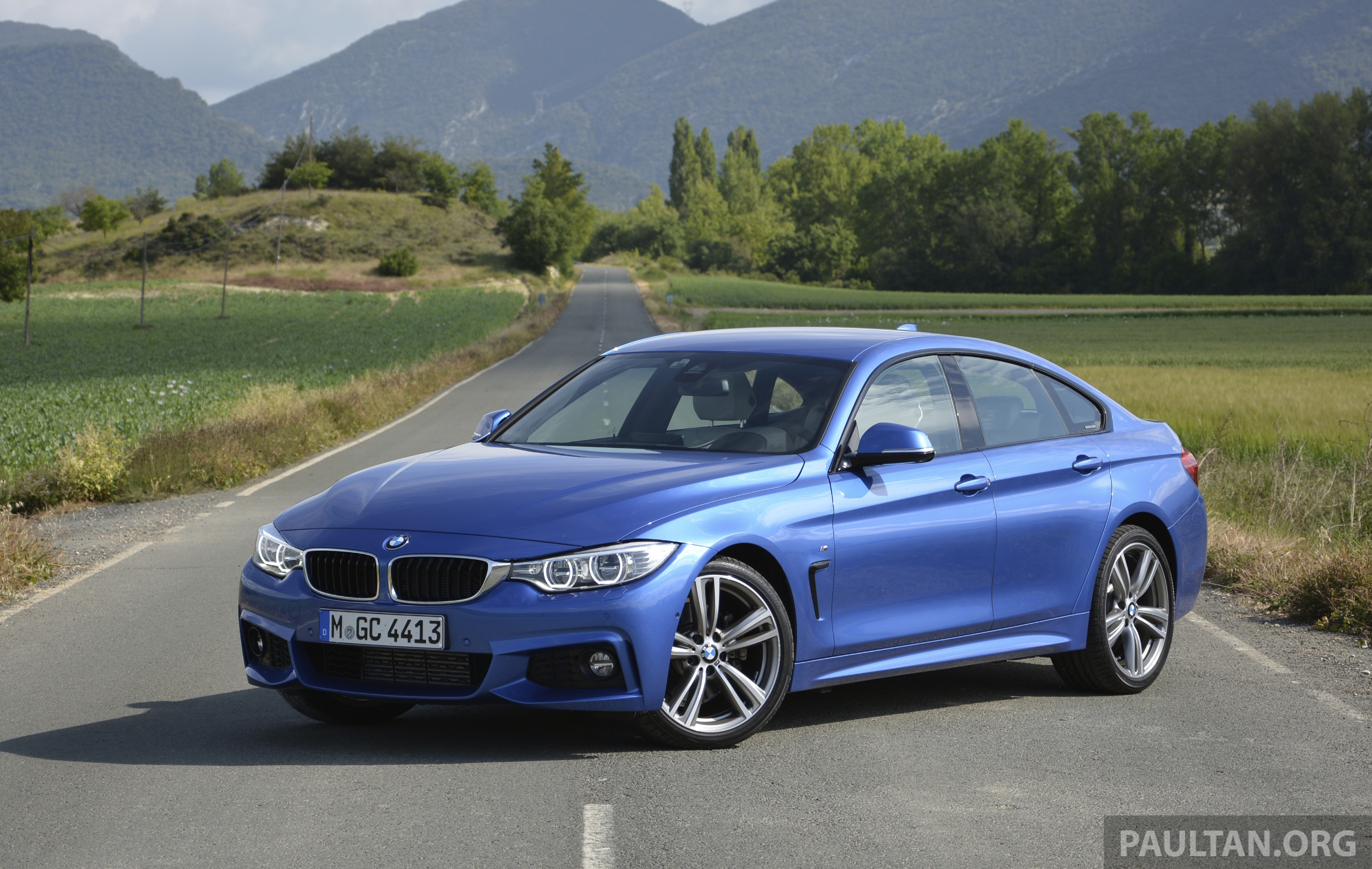 Back to Story: DRIVEN: F36 BMW 4 Series Gran Coupe in Spain