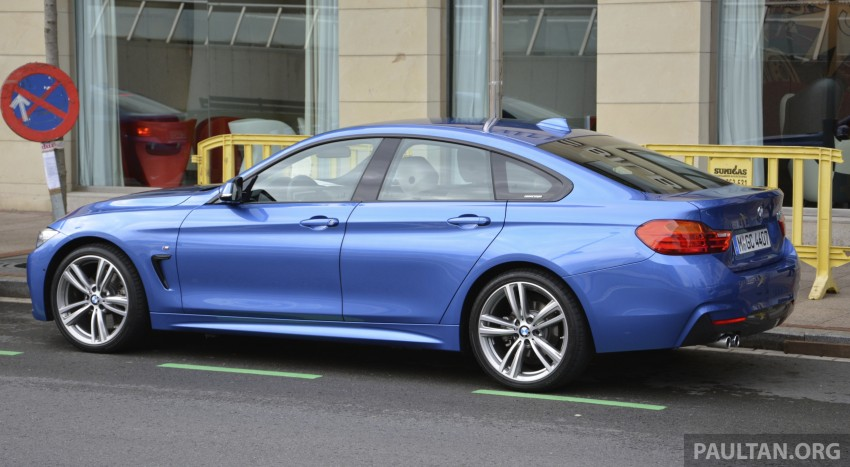Driven F36 Bmw 4 Series Gran Coupe In Spain Image 250509