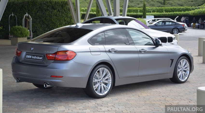 DRIVEN: F36 BMW 4 Series Gran Coupe in Spain Image 250455